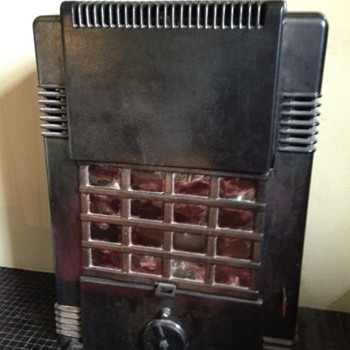 Retro/deco stove - Art Deco