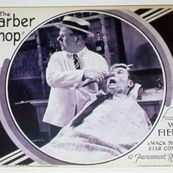 1933 Movie WC Fields-THE BARBERSHOP 16mm reel to reel in original canister - Movies