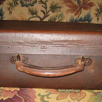 Vintage Child's Suitcase - Bags