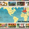 1993 - World War II Souvenir Mint Sheet