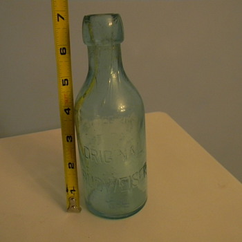 "6 3/4"" Aqua-Squat-Original Budweiser-NO  C.Conrad on it anywhere"