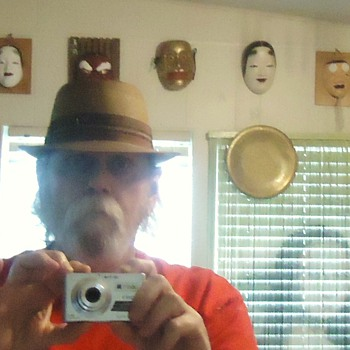 Churchill Hats Ltd. from Gospel Thrift Store with box  Very Cheap I   look Cool? yes or no!?