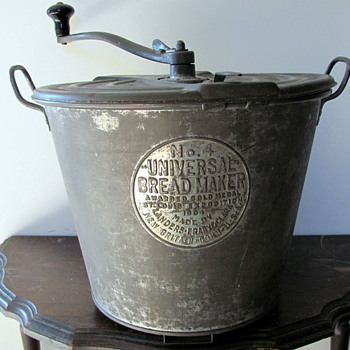 Antique Bread Machine - Kitchen