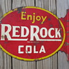 Need help with this Red Rock Cola Flange Sign
