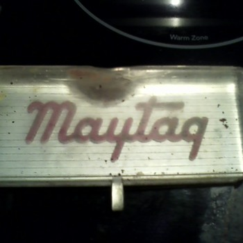 Old Maytag Label - Signs
