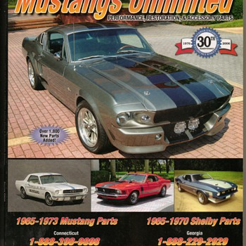 2006 Mustang Parts Catalog