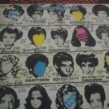 "The Rolling Stones "" Some Girls "" - Records"