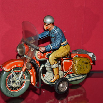 tippco motorcycle - Toys