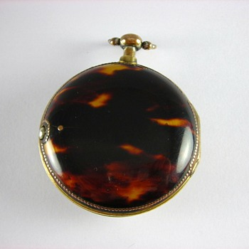 Tortoise Shell  English Verge Fusee