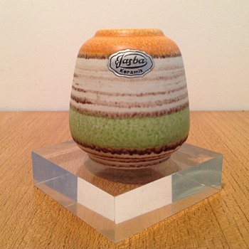 JASBA MINI VASE  - Art Pottery