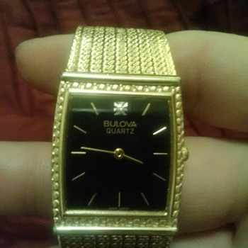 Bulova wristwatch given to me years ago - Wristwatches