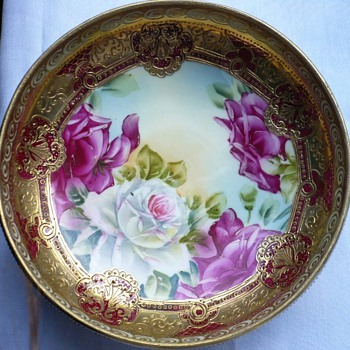 Early Morimura Nippon 3 Footed Bowl (Pre Noritake) - China and Dinnerware