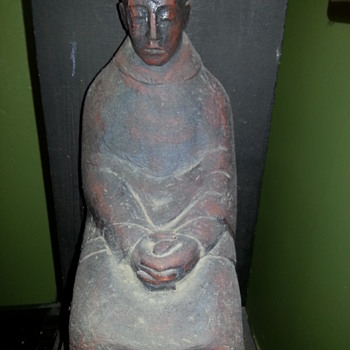 monk  statue  - Asian