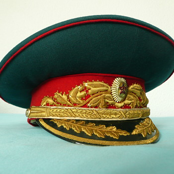 Soviet Parade Visor Cap of a Marshal of the Soviet Union