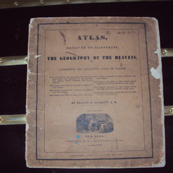 1835 Atlas, The Geography Of The Heavens by Elijah H. Burritt, A. M.