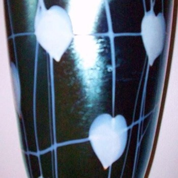 VICTOR DURAND VASE c. 1925 - Art Glass