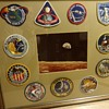Framed Lion Brothers Apollo Mission Patches