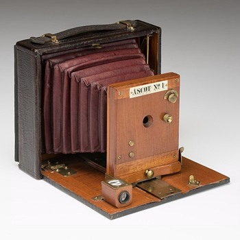 E. & H.T. Anthony Ascot Cycle, No.1 Camera. 1899-1900 - Cameras
