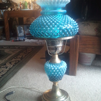 new hobnail lamp - Lamps