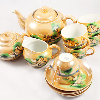 great grandmothers tea set - China and Dinnerware