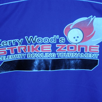 Kerry Wood's Strike Zone bowling shirt.