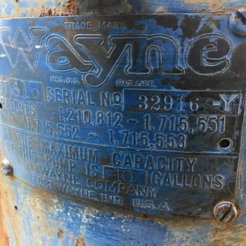 Wayne 615 - Petroliana
