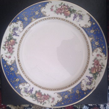 Late Victorian Dinner Service