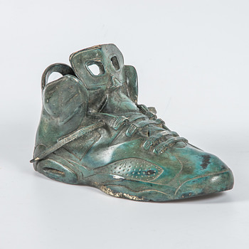 Bronze Nike Air Sneaker - Visual Art