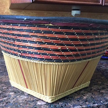 Unknown Basket information needed....looks Native American - Furniture