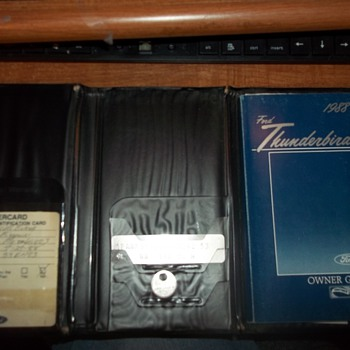 T-BIRD OWNERS MANUAL - Classic Cars