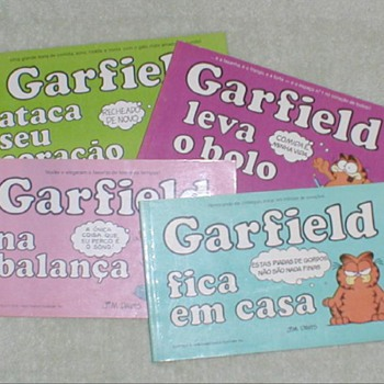 Garfield Comic Books - Brazil - Comic Books