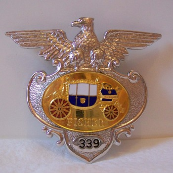 Fisher Body/Chevrolet items - Medals Pins and Badges