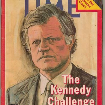 1979 TIME Magazine - Ted Kennedy - Paper
