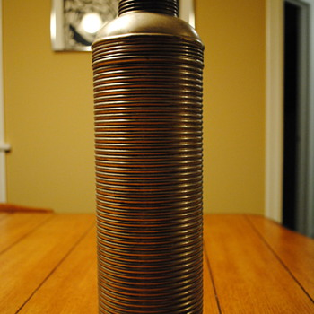 Aluminum 1909 Icy-Hot Thermos