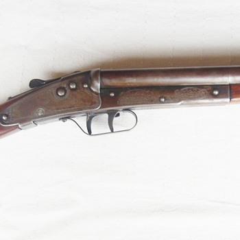 Daisy model 104 double barrel bb gun