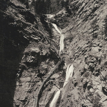 "Seven Falls Colorado""11 July 1901"