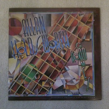 Allan Holdsworth!  R.I.P. - Records