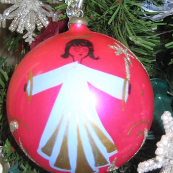 Vintage Plastic Christmas ornaments - Christmas