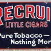 Recruit Cigars sign
