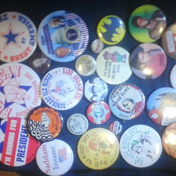 all different kind of very old pins - Medals Pins and Badges