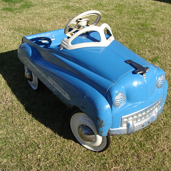 1951 Murray Dipside  Champion Jet Flow Drive Pedal Car Survivor!