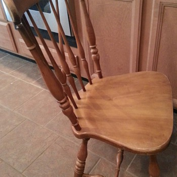 Windsor Brace Back Style Chair?
