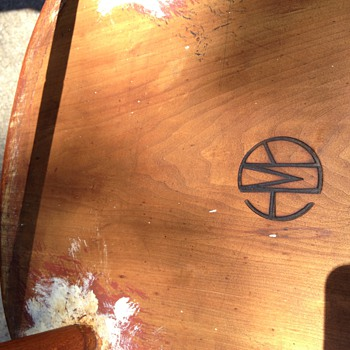 What is this stamp on the bottom of my old rocking chair? - Furniture