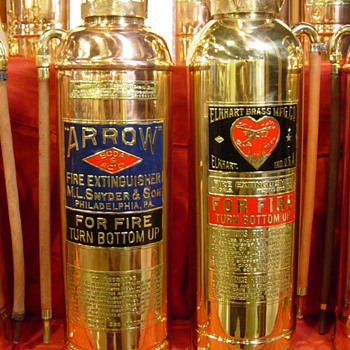 FIRE FIGHTING COLLECTIBLES