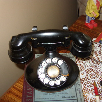 western electric oval telephone