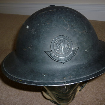 British Civil Defence WW11 Fire Brigade - Military and Wartime