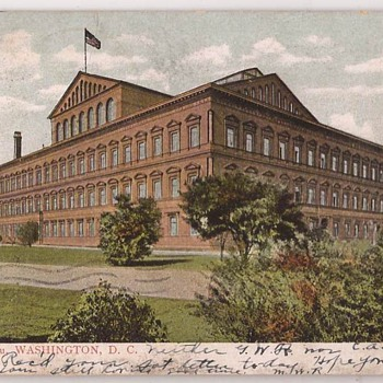 Pension Bureau, Washington DC - Postcards