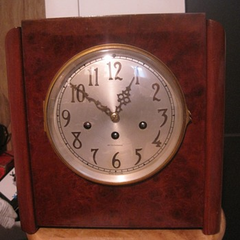 1934 Seth Thomas Art Deco Chime Clock #81