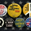 7 More Anti Vietnam Protest Pinback Buttons