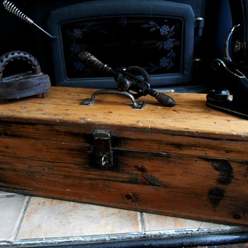 Antique Toolbox - Tools and Hardware